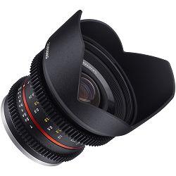 Samyang 12mm T2.2 VDSLR NCS CS Cine Lens širokokutni objektiv za Fuji X mirrorless