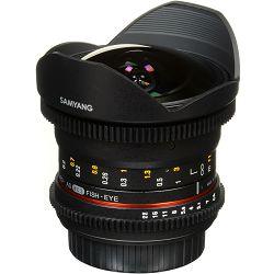Samyang 12mm T3.1 VDSLR ED AS NCS Fisheye objektiv za Canon