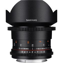 Samyang 14mm T3.1 VDSLR ED AS IF UMC II za Canon