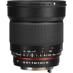 Samyang 16mm f/2.0 ED AS UMC CS za Pentax