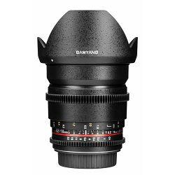 Samyang 16mm T2.2 VDSLR ED AS UMC CS II za Canon