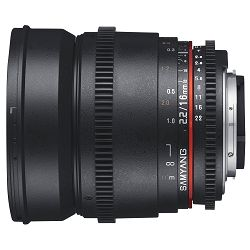 Samyang 16mm T2.2 VDSLR Sony E - Mount