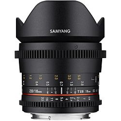 Samyang 16mm T2.6 VDSLR ED AS UMC CS širokokutni objektiv za Sony E-mount Full Frame