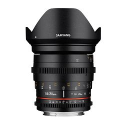 Samyang 20mm T1.9 VDSLR II ED AS UMC širokokutni objektiv za Canon EF-M