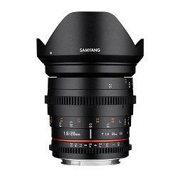 Samyang 20mm T1.9 VDSLR II ED AS UMC širokokutni objektiv za Fuji Fujifilm X-mount