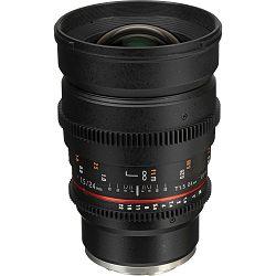 Samyang 24mm T1.5 VDSLR ED AS IF UMC II širokokutni objektiv za Sony E-Mount Full Frame Cine lens