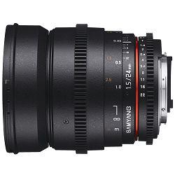 Samyang 24mm T1.5 VDSLR Nikon