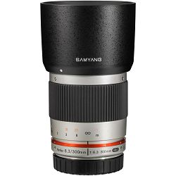 Samyang 300mm f/6.3 ED UMC CS Mirror Silver srebreni telefoto objektiv za Olympus Panasonic MFT micro4/3