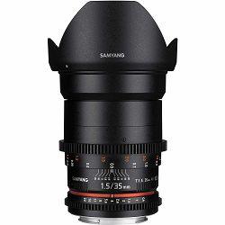 Samyang 35mm T1.5 AS UMC VDSLR II Sony E-Mount