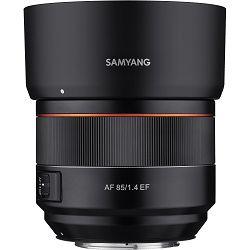Samyang AF 85mm f/1.4 Auto Focus portretni telefoto objektiv za Canon EF