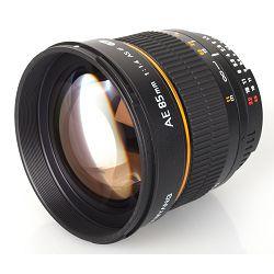 Samyang 85mm f/1.4 IF MC Aspherical Multi-Coated telefoto objektiv za Canon EF