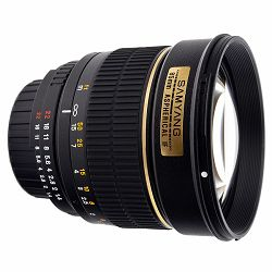 Samyang 85mm F1.4 IF UMC Aspherical Nikon AE Version Multi-Coated