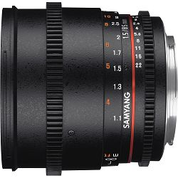 Samyang 85mm T1.5 VDSLR Canon