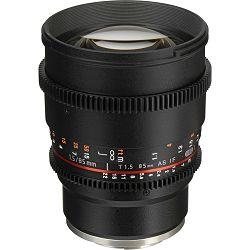 Samyang 85mm T1.5 VDSLR telefoto portretni objektiv fiksne žarišne duljine za Sony E-mount