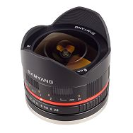 Samyang 8mm f2.8 UMC Fish-eye Fuji X crni F/2.8 F/2,8