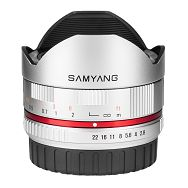 Samyang 8mm f2.8 UMC Fish-eye Fuji X srebreni F/2.8 F/2,8