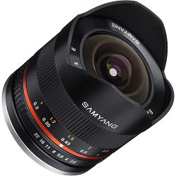 Samyang 8mm f2.8 UMC Fish-eye Samsung NX crni F/2.8 F/2,8