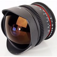 Samyang 8mm F3.5 Aspherical IF MC Fish-eye Samsung NX