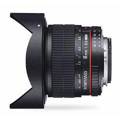 Samyang 8mm F3.5 CS II AE Aspherical IF MC Fisheye Nikon