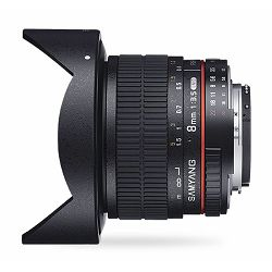 Samyang 8mm F3.5 CS II Aspherical IF MC Fish-eye Canon