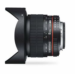 Samyang 8mm F3.5 CS II Aspherical IF MC Fish-eye Sony A-mount