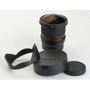 Samyang 8mm fisheye F3.5 Sony E CS II (Hood Detachable) A-mount