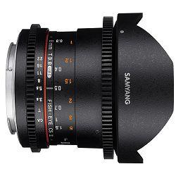 Samyang 8mm T3.8 VDSLR II CSII Fisheye objektiv za Canon EF-M