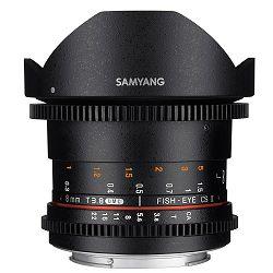 Samyang 8mm T3.8 VDSLR II CSII Fisheye objektiv za Nikon DX