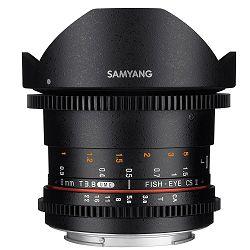 Samyang 8mm T3.8 VDSLR II CSII Fisheye objektiv za Sony A-mount