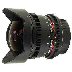 Samyang 8mm T3.8 VDSLR Micro 4/3 Olympus (Hood Detachable)
