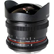 Samyang 8mm T3.8 VDSLR Pentax (Hood Detachable)