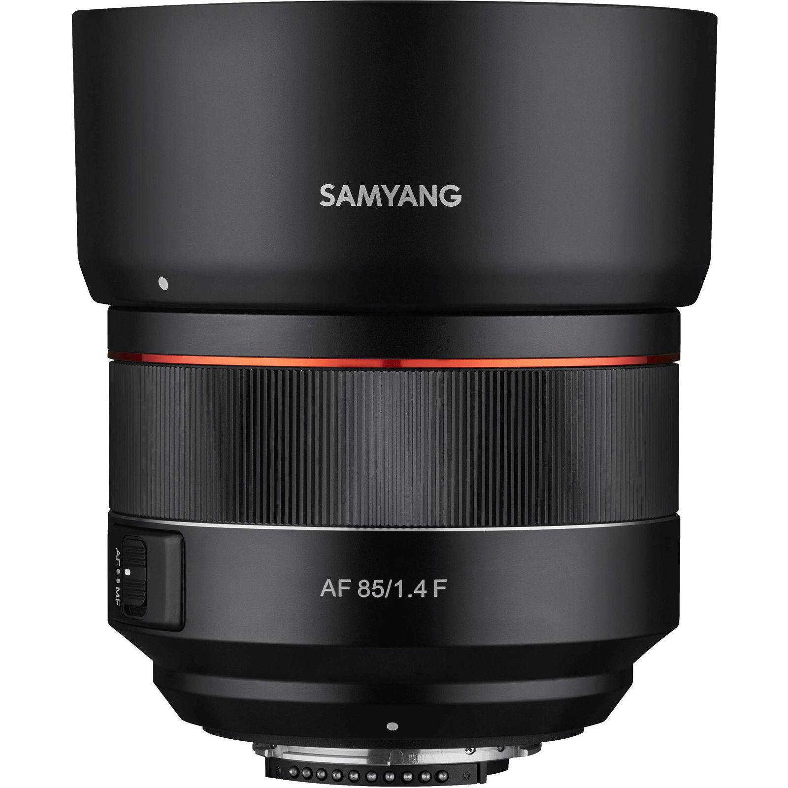 Samyang AF 85mm f/1.4 Auto focus portretni telefoto objektiv za Nikon FX