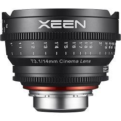 Samyang XEEN 14mm T3.1 Cine Lens PL mount VDSLR Cinema video filmski širokokutni objektiv