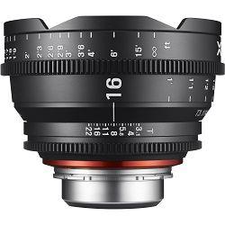 Samyang XEEN 16mm T2.6 Cine Lens MFT VDSLR Cinema video filmski širokokutni objektiv
