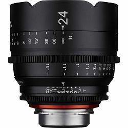 Samyang XEEN 24mm T1.5 Cine Lens PL mount VDSLR Cinema video filmski širokokutni objektiv