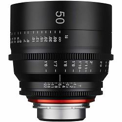 Samyang XEEN 50mm T1.5 Cine Lens PL mount VDSLR Cinema video filmski objektiv