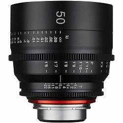 Samyang XEEN 50mm T1.5 Cine Lens Sony E VDSLR Cinema video filmski objektiv