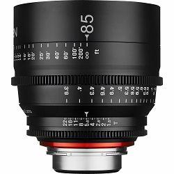 Samyang XEEN 85mm T1.5 Cine Lens PL mount VDSLR Cinema video filmski telefoto objektiv
