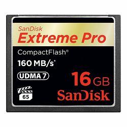 SanDisk CF 16GB 160MB/s Extreme Pro VPG 65 UDMA 7 memorijska kartica (SDCFXPS-016G-X46)