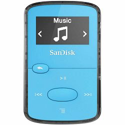 SanDisk Clip JAMBright Blue 8GB MP3 player (SDMX26-008G-G46B)