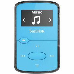 SanDisk Clip JAMBright Blue 8GB MP3 player (SDMX26-008G-G46B)