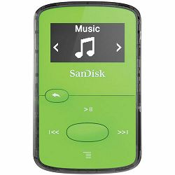 SanDisk Clip JAMBright Green 8GB MP3 player (SDMX26-008G-G46G)