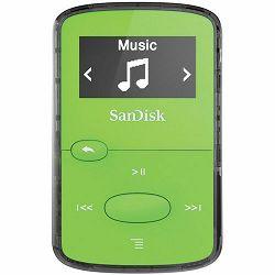 SanDisk Clip JAMBright Green 8GB MP3 player (SDMX26-008G-G46G)