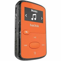 SanDisk Clip JAMBright Orange 8GB MP3 player (SDMX26-008G-G46O)