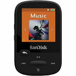 SanDisk Clip Sport Black 8GB MP3 player (SDMX24-008G-G46K)
