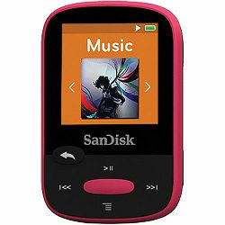SanDisk Clip Sport Pink 8GB MP3 player (SDMX24-008G-G46P)