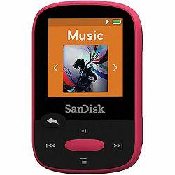 SanDisk Clip Sport Pink 8GB MP3 player (SDMX24-008G-G46P)