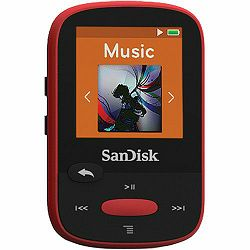 SanDisk Clip Sport Red 4GB MP3 player (SDMX24-004G-G46R)