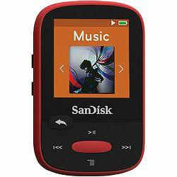 SanDisk Clip Sport Red 4GB MP3 player (SDMX24-004G-G46R)