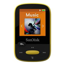 SanDisk Clip Sport Yellow 8GB MP3 player (SDMX24-008G-G46Y)